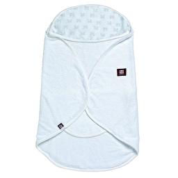 Рушник-конверт для ванної Babynomade - білий/ 0-6 міс.