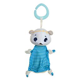 Подвеска-платочек Белый медвежонок Элеонор Tiny Love
