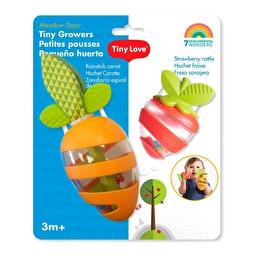 Набор погремушек-прорезывателей Морковка и клубничка Tiny love