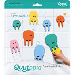 Игрушка для ванной Quut Quutopia Пазл-головоломка Медузы 10 шт
