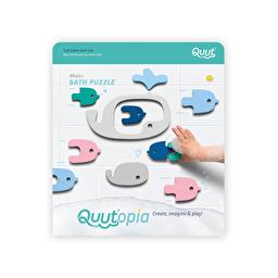 Игрушка для ванной Quut Quutopia Пазл-головоломка Киты 11 шт