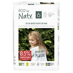 Подгузники Eco by Naty размер 6, рекомендуемый вес от 16 кг, 17 шт