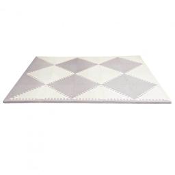 Игровой коврик-пазл Playspot Geo Grey/Cream Skip Hop