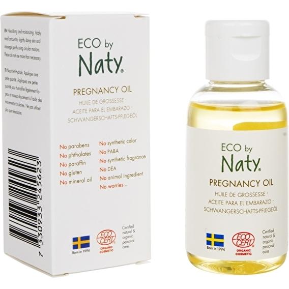 Масло от растяжек для беременных Eco by Naty 50 мл