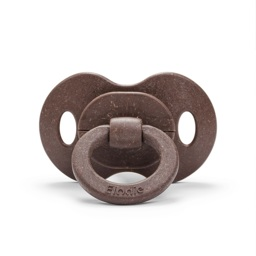 Elodie - Бамбуковая пустышка, Chocolate (латекс)
