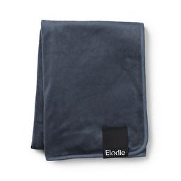 Elodie Details - Детский плед Pearl Velvet Blanket, цвет Juniper Blue