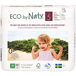Органические подгузники-трусики Naty 5 (12-18 кг), 20 шт.