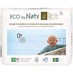 Органические подгузники-трусики Naty 4 (8-15 кг), 22 шт.