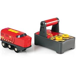 Іграшка локомотив на р/к для залізниці BRIO