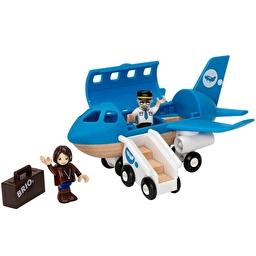 Іграшка літак BRIO з трапом і фігурками