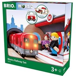 Іграшкова залізниця BRIO Метро