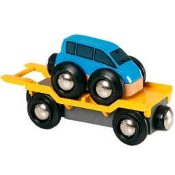 Іграшка вагон-автовоз для залізниці BRIO