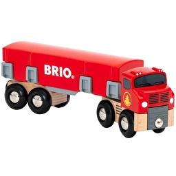 Іграшка вантажівка-лісовоз BRIO з вантажем