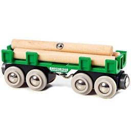 Іграшка вагон-лісовоз для залізниці BRIO