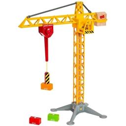 Іграшка баштовий кран з магнітом і світлом BRIO