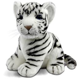 Белый тигр, 18 см, реалистичная мягкая игрушка Hansa