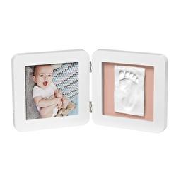 Baby Art Подвійна рамочка Біла з відбитками