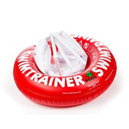 Круг для навчання дітей плаванню SWIMTRAINER, 3міс.- 4 роки - червоний