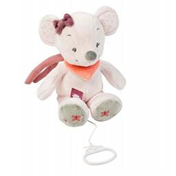Мягкая музыкальная игрушка 28см мышка Валентина Nattou