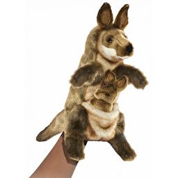 М'яка іграшка на руку Hansa Кенгуру, 29 см, Hansa