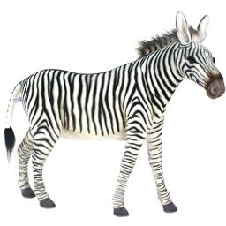 Зебра, серия Animal Seat, 96 см, реалистичная мягкая игрушка Hansa