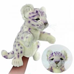 М'яка іграшка на руку Hansa Ірбіс (сніговий леопард, барс), 32 см