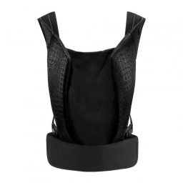 Рюкзак-кенгуру YEMA CLICK Leather Stardust Black black