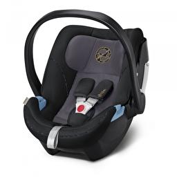 Детское автокресло Cybex Aton 5 Premium Black black PU1