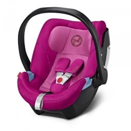 Автокресло Cybex Aton 5 Fancy Pink purple PU1