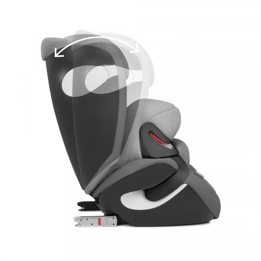 Автокресло Juno M-fix / Manhattan Grey mid grey - lebebe-boutique - 9