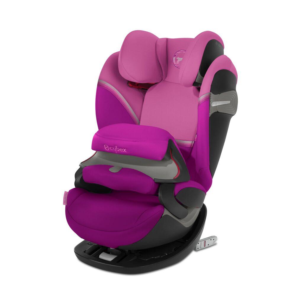 Автокрісло Pallas S-fix / Fancy Pink purple PU1