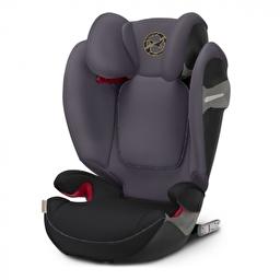 Автокресло Solution S-fix / Premium Black black PU1