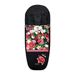 Cybex - Чехол для ног Spring Blossom / Dark
