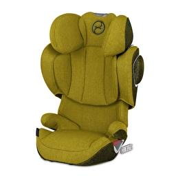 Автокресло Solution Z-fix Plus Mustard Yellow yellow