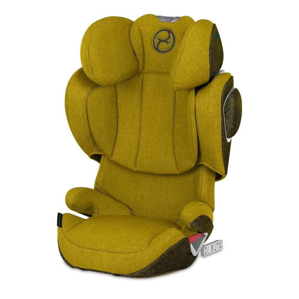 Автокресло Solution Z i-Fix Plus Mustard Yellow yellow