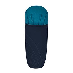 Чехол для ног Platinum / Nautical blue navy blue Cybex