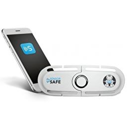 Клипса Cybex Sensorsafe для автокресла (группа 0+) Grey