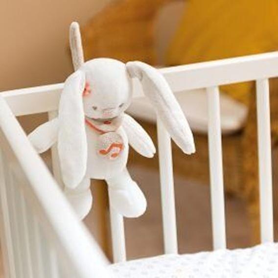 М'яка музична іграшка 21см кролик Мія Nattou - lebebe-boutique - 2