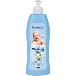HebaCARE Детский нежный гель для мытья волос и тела 3в1, 500 мл