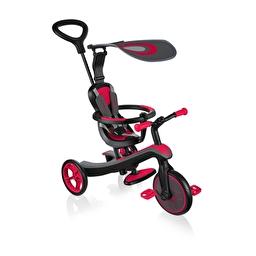 Велосипед дитячий GLOBBER серії EXPLORER TRIKE 4 в 1, червоний, до 20 кг, 3 колеса