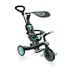 Велосипед дитячий GLOBBER серіі EXPLORER TRIKE 4в1, бірюзовий, до 20кг, 3 колеса