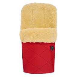 Великий теплий конверт KAISER NATURA червоний