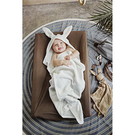 Полотенце с капюшоном, Vanilla White Bunny, Elodie Details - lebebe-boutique - 3