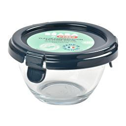 Склянний контейнер Beaba Pyrex 200 мл синій