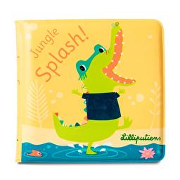 Книга для ванной Lilliputiens крокодил Анатоль
