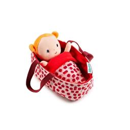 Лялька в колисці Lilliputiens Агата