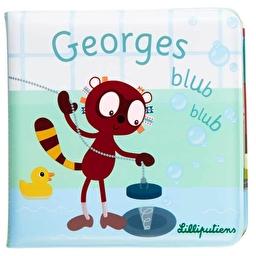 Книга для ванной Lilliputiens лемур Джордж