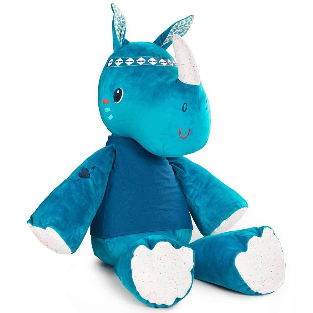 Большая мягкая игрушка Lilliputiens носорог Мариус - lebebe-boutique - 2