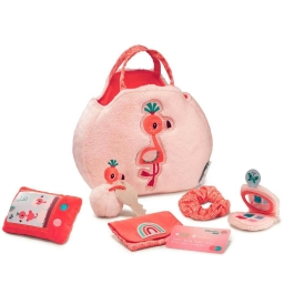 Дитяча сумочка з аксесуарами Lilliputiens фламінго Анаїс