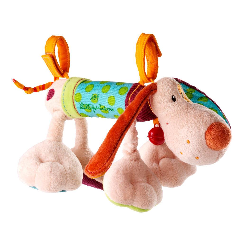 Игрушка на коляску Lilliputiens собачка Джеф - lebebe-boutique - 3